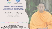 Meditación con un monje budista tailandés en Espacio de Yoga
