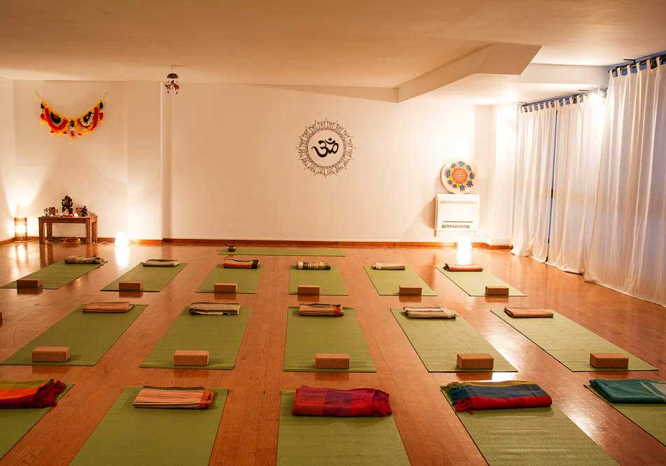 sala de practica de Espacio de Yoga