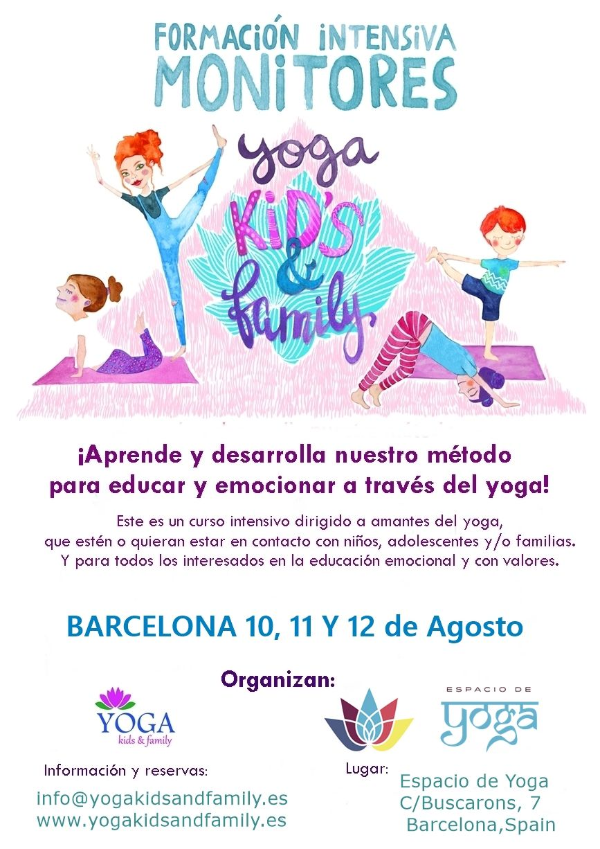Formación Yoga Kids Family