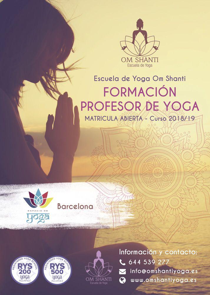 Formación de Profesor de Yoga
