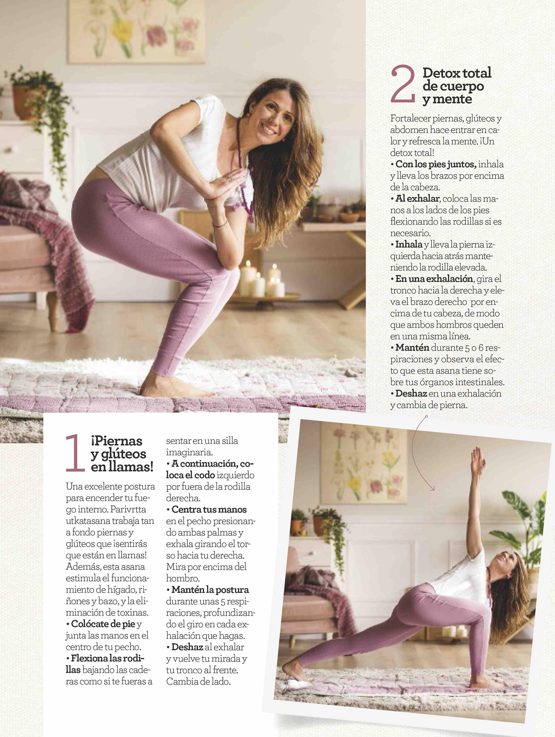 Espacio de Yoga Revista Cuerpo Mente